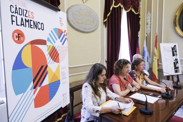 Presentación del I Festival 'Cádiz es Flamenco'