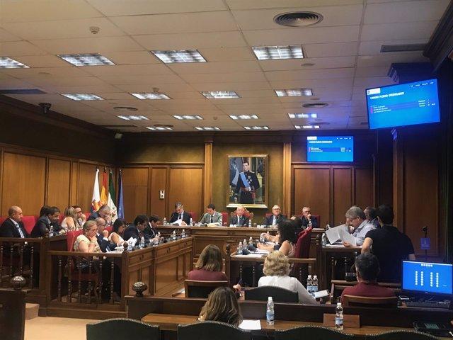 El Pleno ha estrenado un sistema de videoactas para gestionar las sesiones.