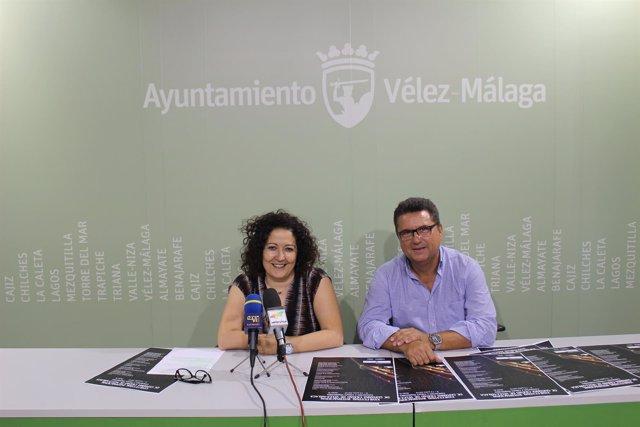 Concejala cynthia García presenta festival guitarra velez