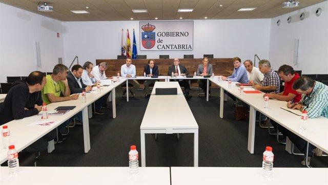 Reunión con organizaciones agrarias y partidos para la postura de la PAC