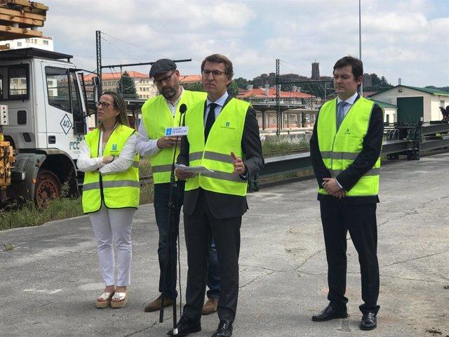 Arrancan las obras de la estación intermodal de Santiago