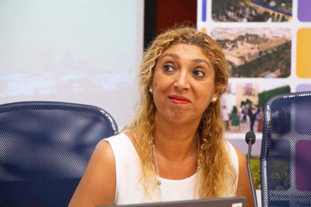 La cantaora Esperanza Fernández en los cursos de la UPO