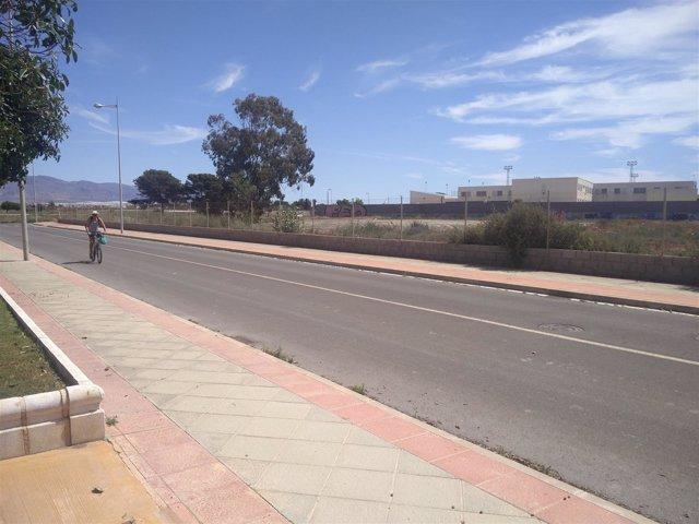 Parcela para la construcción del nuevo Conservatorio de Danza de Almería