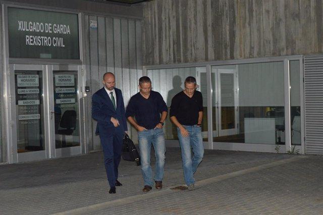 Policías gemelos de Ourense investigados