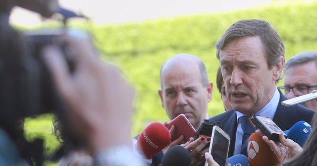 Declaraciones de Rafael Hernando, portavoz del PP en el Congreso, ante el TC