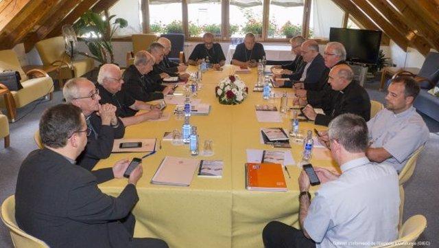 Conferencia Episcopal Tarraconense, integrada por obispos catalanes