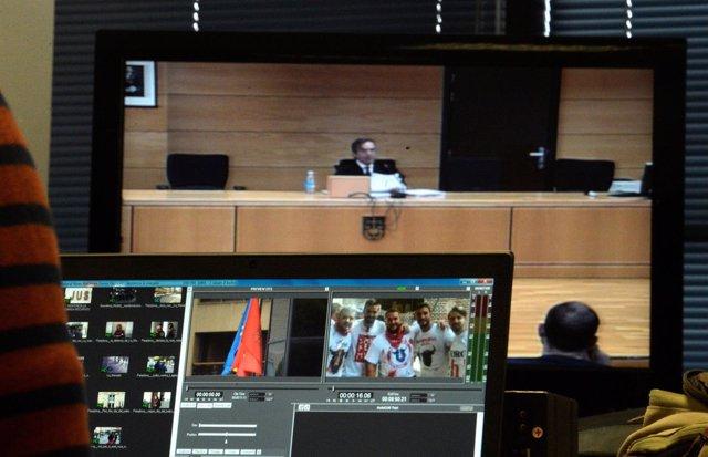 Audiencia Navarra lee la pena contra los acusado de abuso sexual en Sanfermines