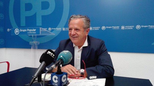 Salvador Fuentes en el Ayuntamiento