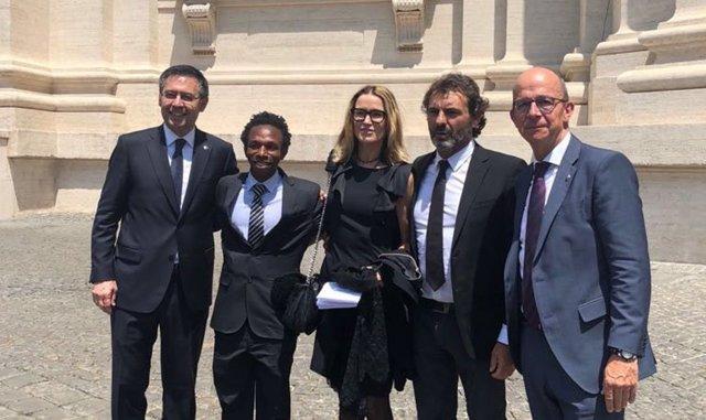 Delegación del FC Barcelona en El Vaticano