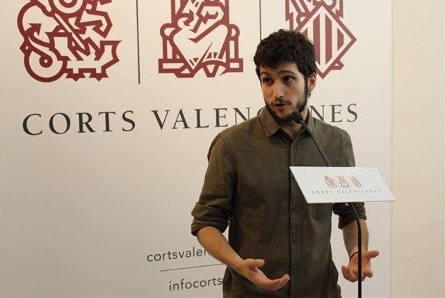 El líder de Podem, Antonio Estañ