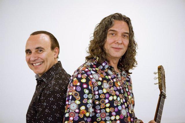 El pianista Michel Camilo y Tomatito.