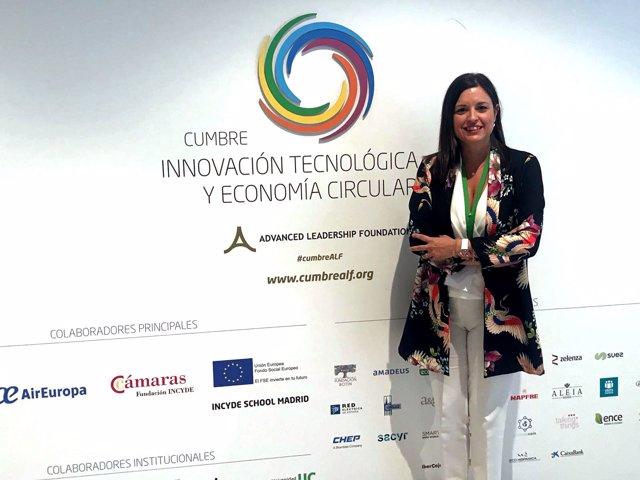 Np La Alcaldesa Isleña Participa En La I Cumbre De Economía Circular Celebrada E