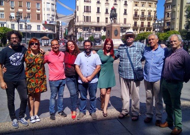 La candidatura cordobesa de apoyo a Teresa Rodríguez