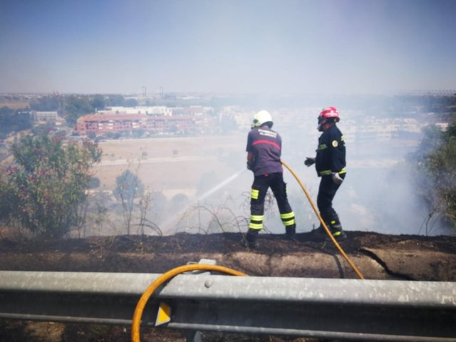 Incendio en San Juan