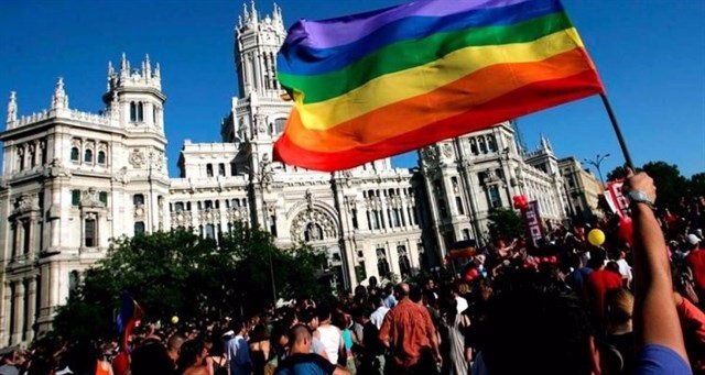 Manifestación del Orgullo LGTB