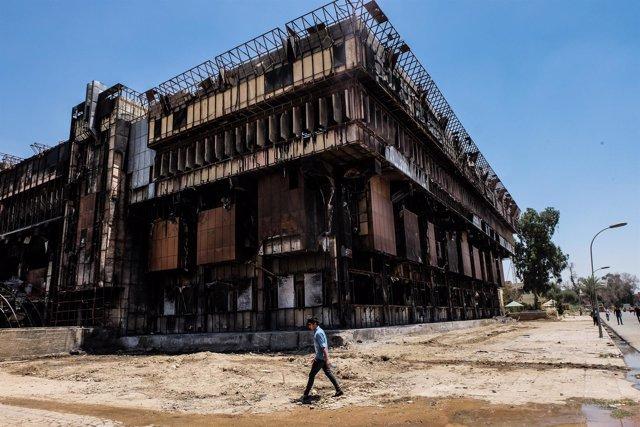 Biblioteca de la Universidad de Mosul
