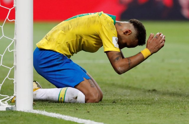 Neymar lamenta la eliminación de Brasil en el Mundial