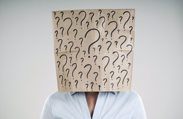 Dudas, conócete a ti mismo,interrogación, dudas