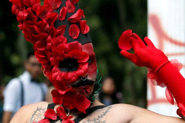 Desfile del orgullo en Colombia