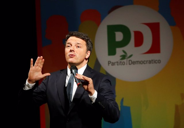 Matteo Renzi, líder del Partido Democrático