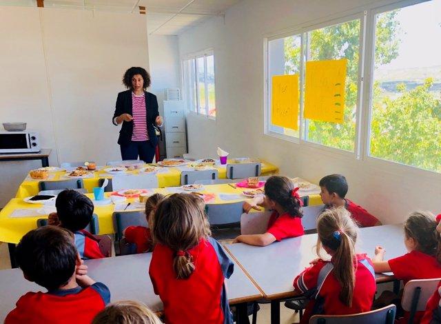 Colegio el Pinar Laura Escobar proyecto solidario gastronómico