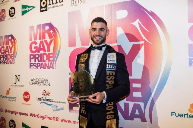 Francisco José Alvarado, Mr Gay Pride España 2018