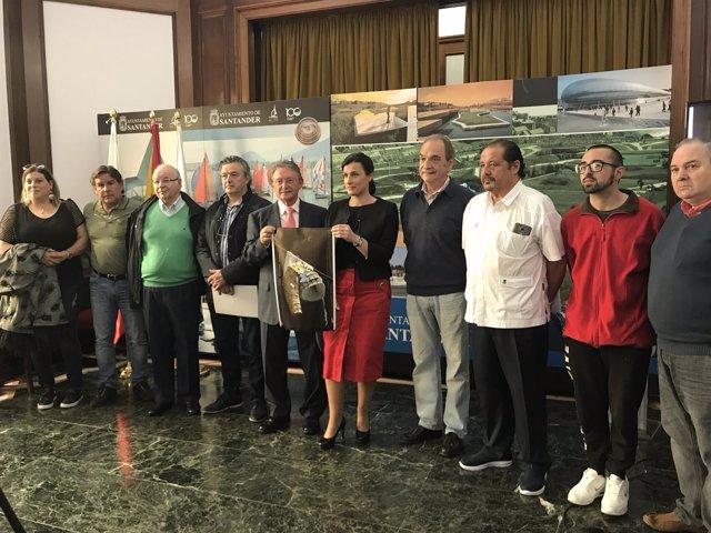 Presentación del cartel de la Feria de Santiago