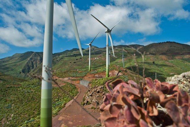 Parque eólico en El Hierro