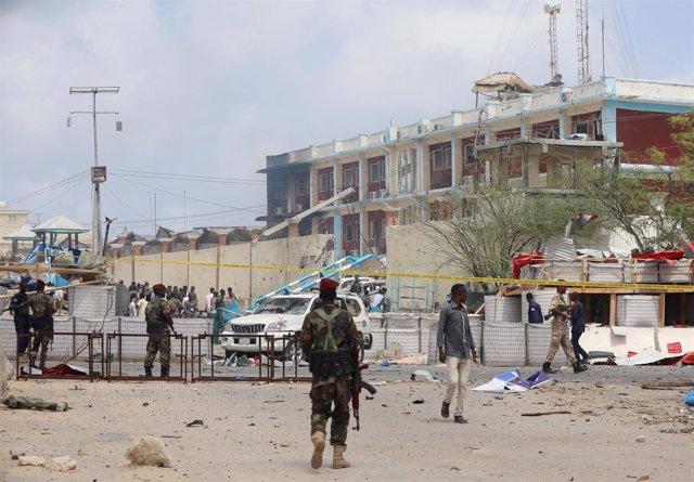 Ataque cerca de palacio presidencial en Mogadiscio