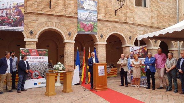 Olona defiende la IGP de la Cereza de Calatayud