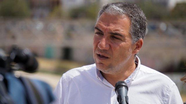 Elías Bendodo presidente del PP de Málag ay portavoz del PP andaluz