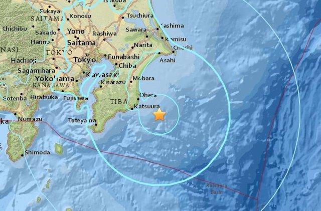 Terremoto en la región de Tokio
