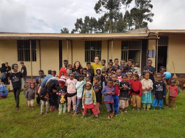 Proyecto de acogida a niños de Etiopía