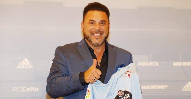 El nuevo entrenador del Celta de Vigo, Antonio Mohamed