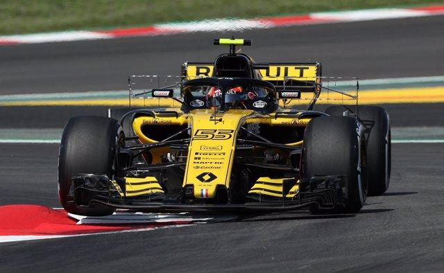 El piloto español Carlos Sainz en F1