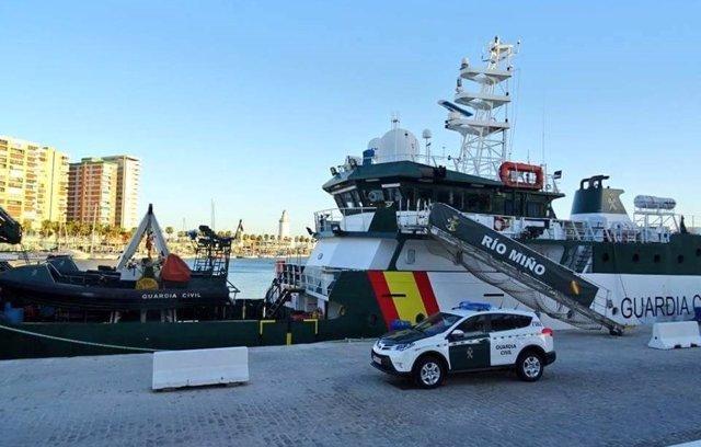 Patrullera 'Río Miño' de la Guardia Civil