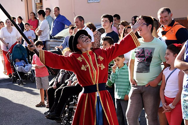 Espectáculo 'Circo mágico' de la compañía Brotons