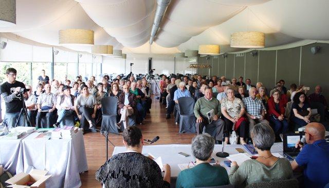 Asamblea de la coordinadora de la Secretaría das Persoas Xubiladas del SLG