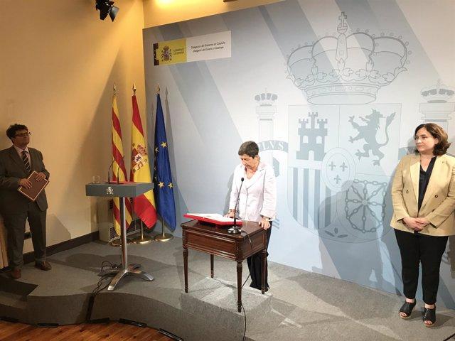 La delegada del Gobierno en Catalunya, Teresa Cunillera, toma posesión