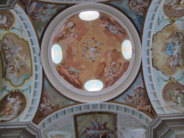 Interior de la Cartuja de Nuestra Señora de las Fuentes