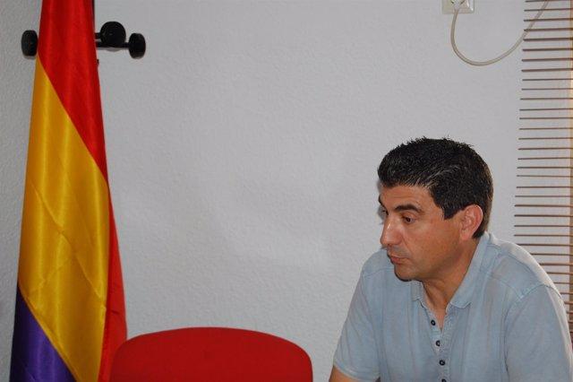 El secretario general de CCOO en Huelva, Emilio Fernández.