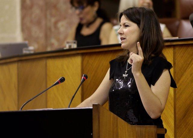 La parlamentaria del PP-A Ana Vanessa García