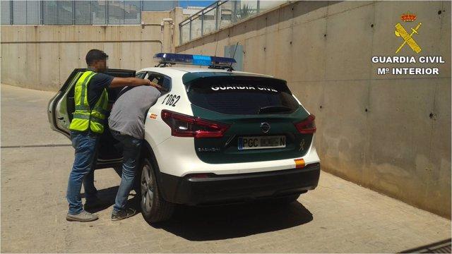 Detenido en Santa Pola por robos en Elche