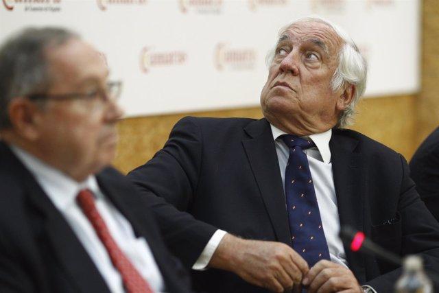 Carlos Espinosa de los Monteros y José Luis Bonet