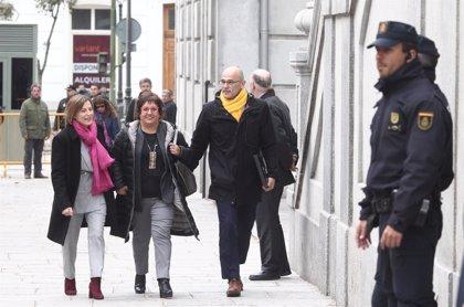 """Presos soberanistas dicen que el """"ataque"""" contra la escuela catalana busca fracturar la sociedad"""