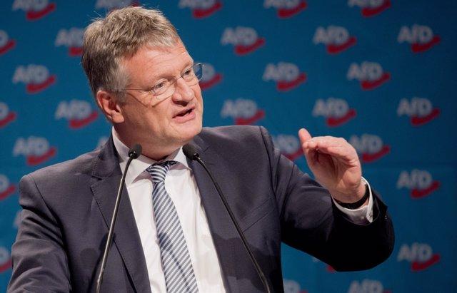 El presidente de AfD Joerg Meuthen