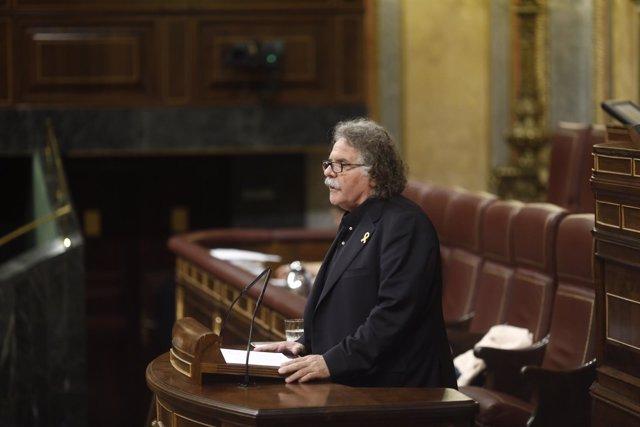 Joan Tardá interviene en el pleno del Congreso sobre los Presupuestos