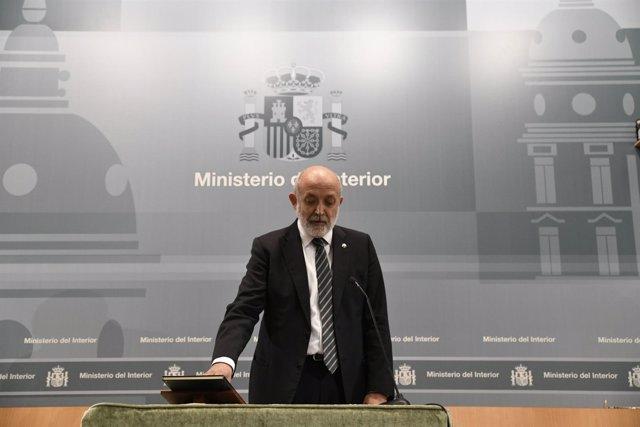 Toma de posesión del nuevo director general de la Guardia Civil, Félix Azón