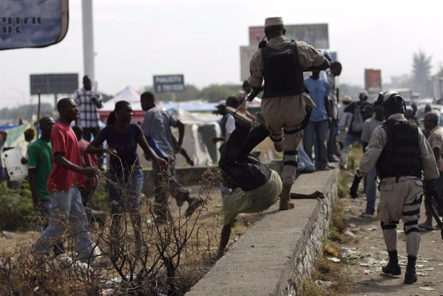 Disturbios en Haití