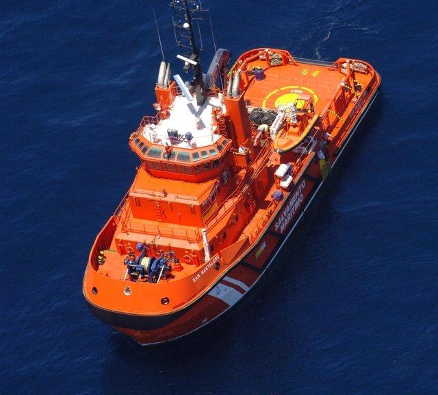El buque SAR Mastelero de Salvamento Marítimo
